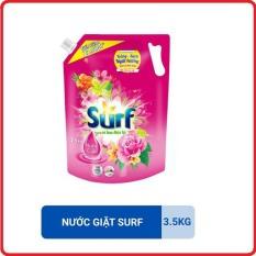 Nước Giặt Surf Hương Hoa Cỏ Dịu Kỳ Túi 3.5Kg