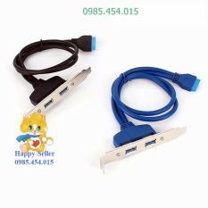 Cable chia 2 cổng USB3.0 cho PC_Mới