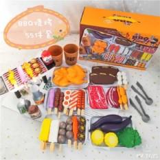 Bộ đồ chơi nấu ăn 36 món cho bé, bộ đồ chơi nấu ăn mini, bộ đồ chơi làm bếp cho bé, đồ chơi làm bêp, đồ làm bếp cho bé. – bộ 88 chi tiết món ăn – bộ 55 chi tiết món nướng