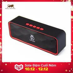 Loa Bluetooth mini, loa di động giá rẻ hỗ trợ thẻ nhớ, FM, USB KING CROWN SC211