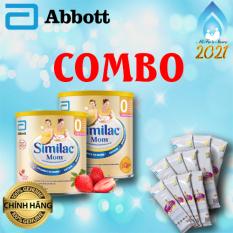 Combo Similac Mom hương Dâu – 2 hộp 400g TẶNG 11 Gói sữa Similac Mom 36,5 gram