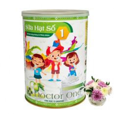 Sữa hạt số 1 Doctor One cho trẻ nhỏ chính hãng Thiên Nhiên Việt, hộp 500gram, sữa thực vật 100% thiên nhiên