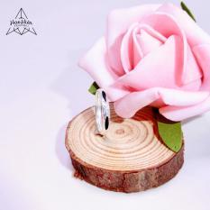 Nhẫn Lông Đuôi Voi Phong Thủy bản đơn – Biểu tượng Tình Duyên – Sức khỏe dồi dào – Mang lại May Mắn cho người đeo (Bạc 925)