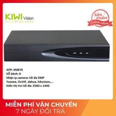 Đầu Ghi Camera IP NVR 5MP 9 kênnh Chính Hãng Cao Cấp Bảo Hành 12 Tháng