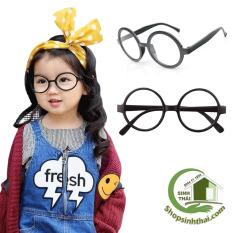 Mắt kính trẻ em màu đen [ giá sỉ ] – tặng kèm túi đựng