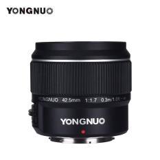 Ống kính Yongnuo 42.5mm F1.7 AF / MF dành cho máy ảnh Panasonic, Olympus ngàm M4/3