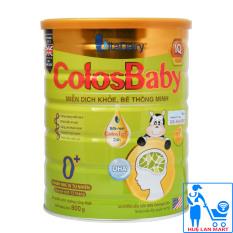 Sữa Bột VitaDairy ColosBaby IQ Gold 0+ Hộp 800g (Miễn dịch khỏe, bé thông minh; Cho trẻ 0~12 tháng tuổi)