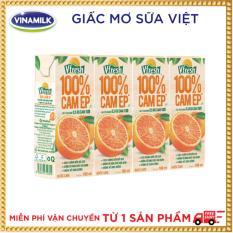 Thùng 48 hộp Nước cam ép 100% Vfresh 180ml