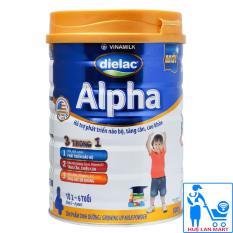 Sữa Bột Vinamilk Dielac Alpha 4 – Hộp 900g (Cho trẻ từ 2~6 tuổi)