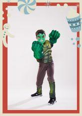 Quà Noel Bộ quần áo hoá trang siêu anh hùng Người xanh Hulk.