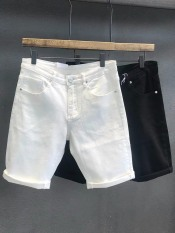 [Có video] Quần short jean nam trắng co dãn cao cấp ( hàng shop )