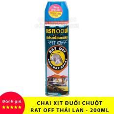 【HIỆU QUẢ】 Chai (Bình) Xịt Đuổi Chuột Rat Off – Anti Rat Spray Thái Lan (Có Tem Vàng)