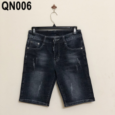 Quần short denim nam phong cách – QN006