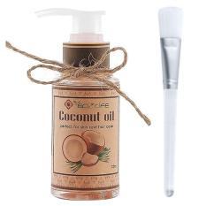 Dầu dừa tặng cọ quét mặt – Coconut Oil 75ml