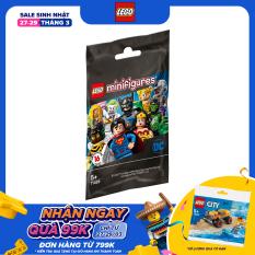 LEGO MINIFIGURES 71026 Bộ Nhân Vật LEGO Siêu Anh Hùng DC Comics ( 9 Chi tiết)