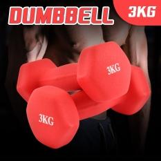 BG – COMBO 2 tạ tay cao cấp thép đặc Thái Lan tập Gym 3kg