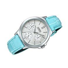Đồng hồ nữ dây da Casio Anh Khuê LTP-V300L-2AUDF