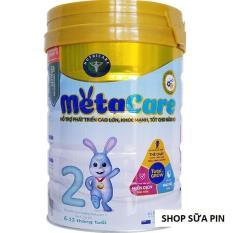 3 LON Sữa bột Metacare số 2 lon 900g (cho trẻ 6-12 tháng)