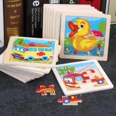 [Lấy mã giảm thêm 30%]Bộ 5 câu đố ghép hình bằng gỗ để phát triển kỹ năng cho bé