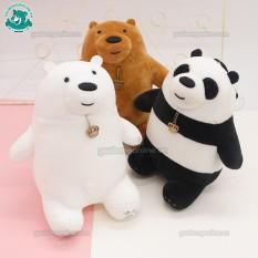 Gấu bông chúng tôi đơn giản là gấu – We bare bears | kích thước 20 cm-25 cm