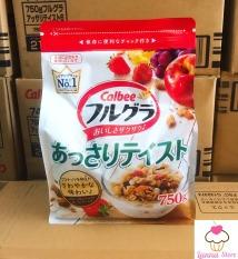 [HSD 21/01/2021] Ngũ cốc trái cây Calbee màu đỏ mới 750g – Nhật Bản hương vị thơm ngon hấp dẫn
