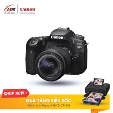 Máy Ảnh Canon EOS 90D (EF-S18-55MM F/3.5-5.6 IS STM) – Hàng Chính Hãng Lê Bảo Minh – Nhận Ngay Máy In Canon Selphy CP1300