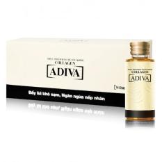 Adiva 42 lọ Tinh chất làm đẹp collagen ADIVA + 1 hộp nghệ Micell Adiva (30 viên)