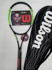 Vợt tennis Wilson 275g- Màu Xanh cốm – tặng căng cước quấn cán và bao vợt – ảnh thật sản phẩm