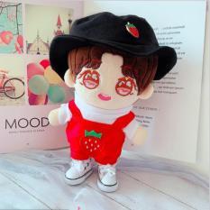 Outfit yếm kèm khuy cài nón bucket cho doll 20-22cm (B6B06), cam kết hàng đúng mô tả, đhất lượng đảm bảo, đa dạng mẫu mã, màu sắc, kích cỡ