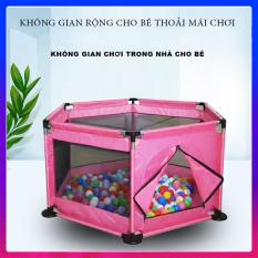 Nhà Bóng Mini – Quây Cũi Cho Bé – Khung Thép Không Gỉ Chịu Lực Cực Tốt – Tặng Kèm Ngay 10 Trái Bóng Nhiều Màu Sắc