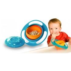 Chén Thông Minh Universal Gyro Bowl Chống Đổ ,chén ăn dặm cho bé