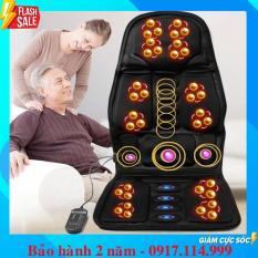 NỆM MASSAGE TOÀN THÂN – Đệm ghế matxa toàn thân – Đệm ghế massage toàn thân ( Dùng được trên oto )