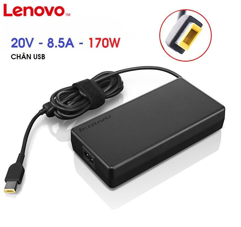 SẠC LAPTOP LENOVO 20V 8.5A 170W - CHÂN USB - CHÍNH HÃNG