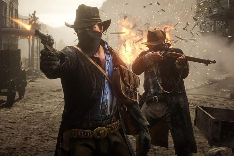 Đĩa Game PS4 - Red Dead Redemption 2 - EU