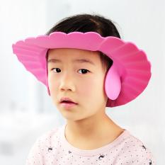 Mũ Tắm Gội Đầu Chắn Nước, Nón Tắm Có Bịt Tai Cho Bé