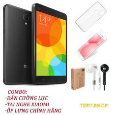 Điện Thoại Xiaomi Mi 4 Ram 3Gb Rom 16Gb – Tặng kèm ốp lưng, Tai nghe , Kính cường lực – Có sẵn Tiếng Việt