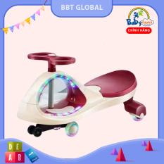 Xe lắc cao cấp bánh cao su có đèn và nhạc BBT GLOBAL SW004