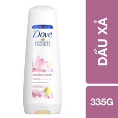 Dầu xả Dove óng mềm tự nhiên 335g