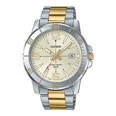 Đồng hồ nam Casio MTP-VD01SG-9BVUDF Dây kim loại mặt trắng