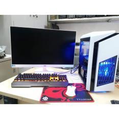Máy tính để bàn chơi game cấu hình cao chip intel i3 3220, ram8gb, ổ cứng 500gb, VGA rời GTX 750ti 2gb và Màn hình LG 20 inch. Tặng bàn phím chuột chơi game (máy tính để bàn, máy tính chơi game giá rẻ,bộ máy tính để bàn chơi game,