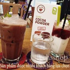 Bột cacao nguyên chất, không pha trộn tạp chất, dễ tan, đậm đà, [túi 250g] – Có tem chống hàng giả – Bột cacao xuất xứ Indonesia – Cacao nguyên chất – Bột ca cao – Bột cacao nguyên chất không đường