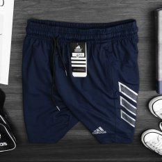 Quần short thể thao nam chất thun co dãn 4 chiều, vải mềm mịn, thoáng khí, không xù lông, nhão vải, logo thêu sắc nét – QS23