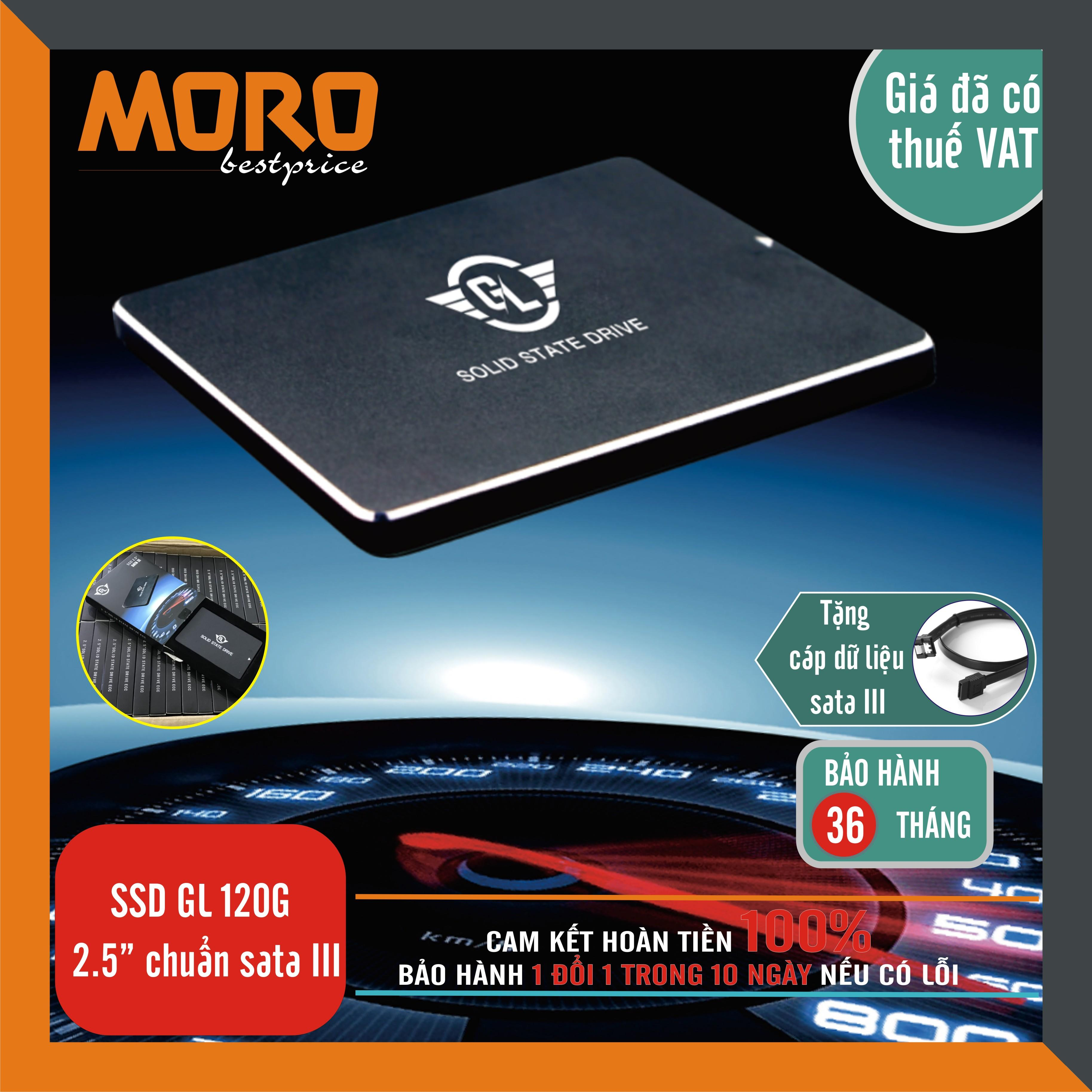 Ổ cứng SSD 120GB - 480GB GL chuẩn sata III