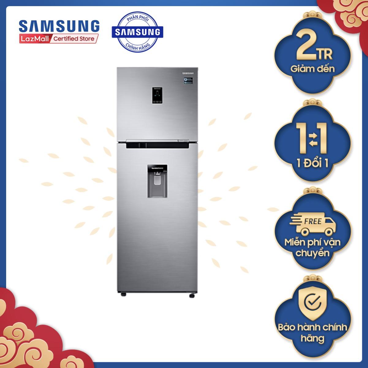 (Voucher 250K) Tủ lạnh Samsung hai cửa Twin Cooling Plus 327L (RT32K5932S8)