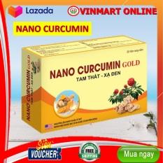 Viên tinh nghệ Nano Curcumin Gold Tam Thất Xạ Đen – Hộp 30 viên giảm viêm loét dạ dày, tá tràng, ung bướu
