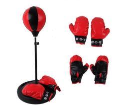 Bộ Đồ Chơi Tập Boxing Cho Bé/Đồ chơi thể thao trẻ em đấm bốc (Red)