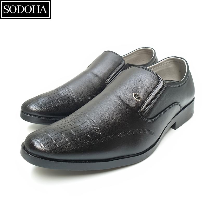 Giày Tây Nam Da Bò Cao Cấp SODOHA SDH-566
