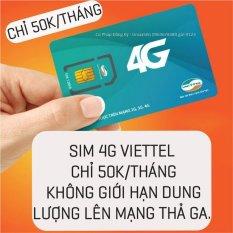 SIM Viettel 4G Umax50N Không Giới Hạn Lưu Lượng Tốc Độ Cao