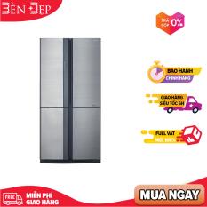 [TRẢ GÓP 0%] Tủ lạnh Sharp Inverter 626 lít SJ-FX631V-SL (Miễn phí giao tại HN-ngoài tỉnh liên hệ shop)