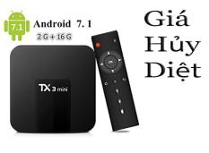 Android Tivi Box Tanix TX3 Mini – Ram 2GB, Rom 16GB, Android 9.0 – Bluetooth 4.0 ( Giá Hủy Diệt )